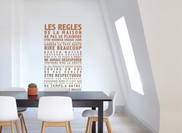 Coup de coeur : les règles de la maison !